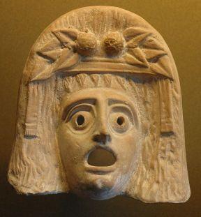 Bacchic mask